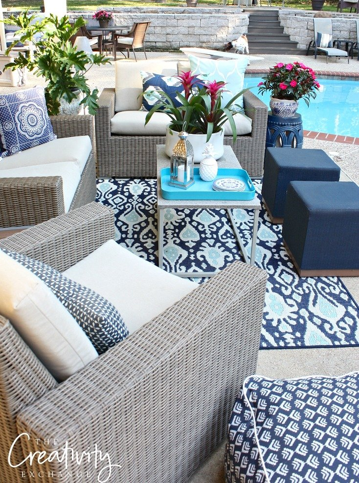 Patio refresh, tips and furniture deals.