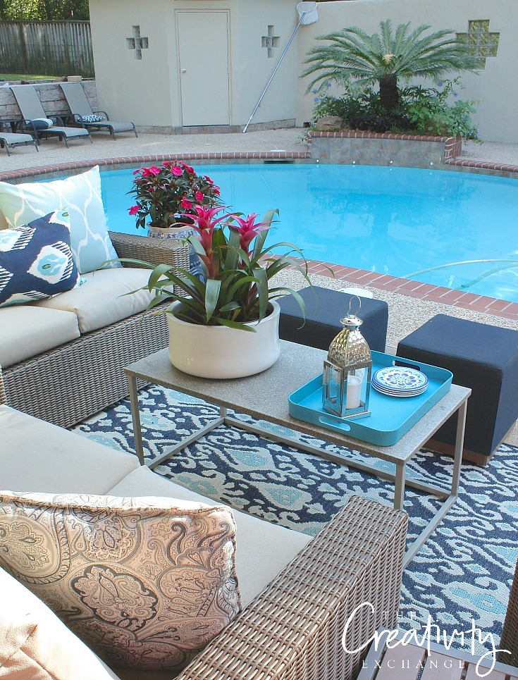 Tips for updating a patio and furniture deals.
