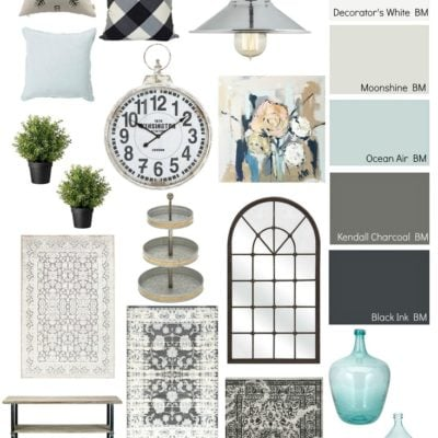 Moody Monday: Chic Modern Farmhouse Style