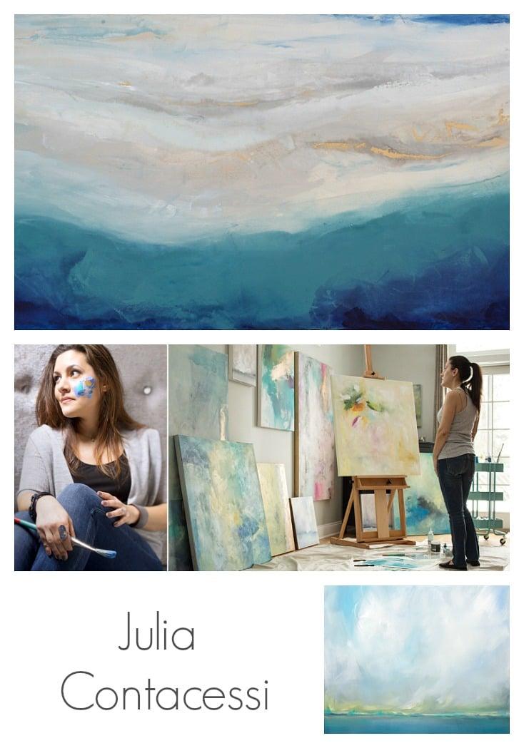 Artist Spotlight. Painter Julia Contacessi