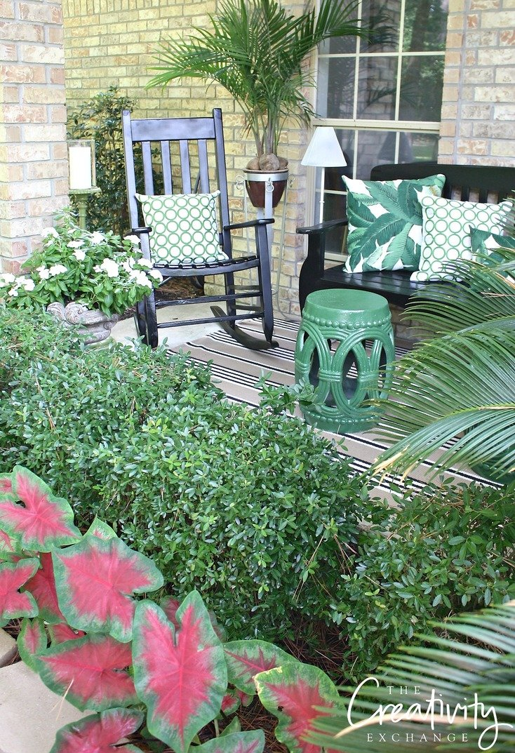 Front porch refresh project. The Creativity Exchange