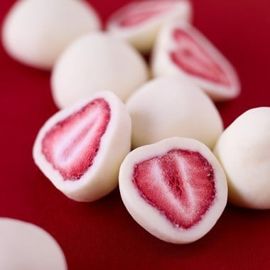 Frozen Yogurt-Covered Strawberries