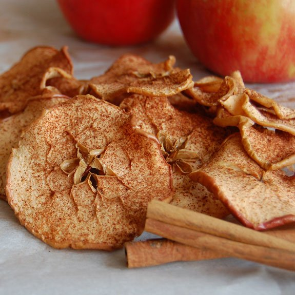 Homemade Baked Cinnamon Apple Chips