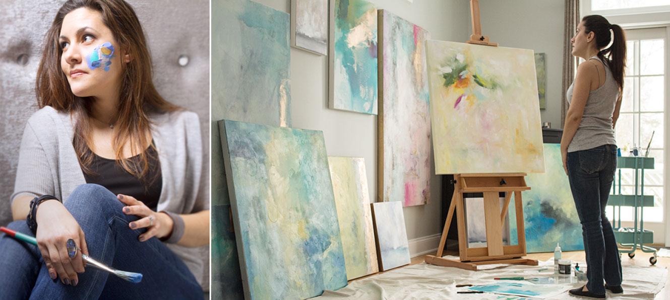 Painter Julia Contacessi- Artist Spotlight
