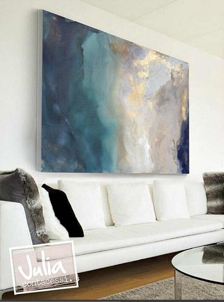 Artist spotlight julia contacessi How long does it take to paint a living room