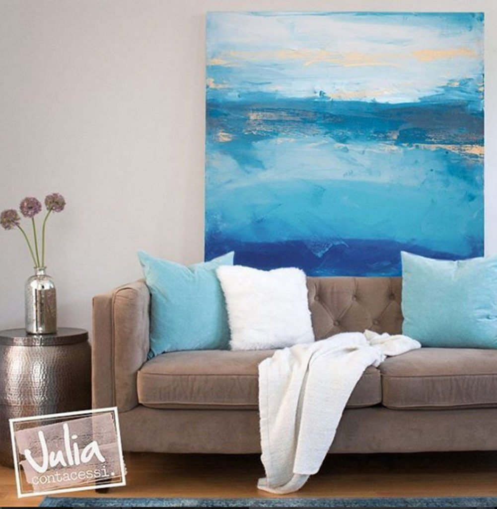 Windblown by artist Julia Contacessi. Artist Spotlight