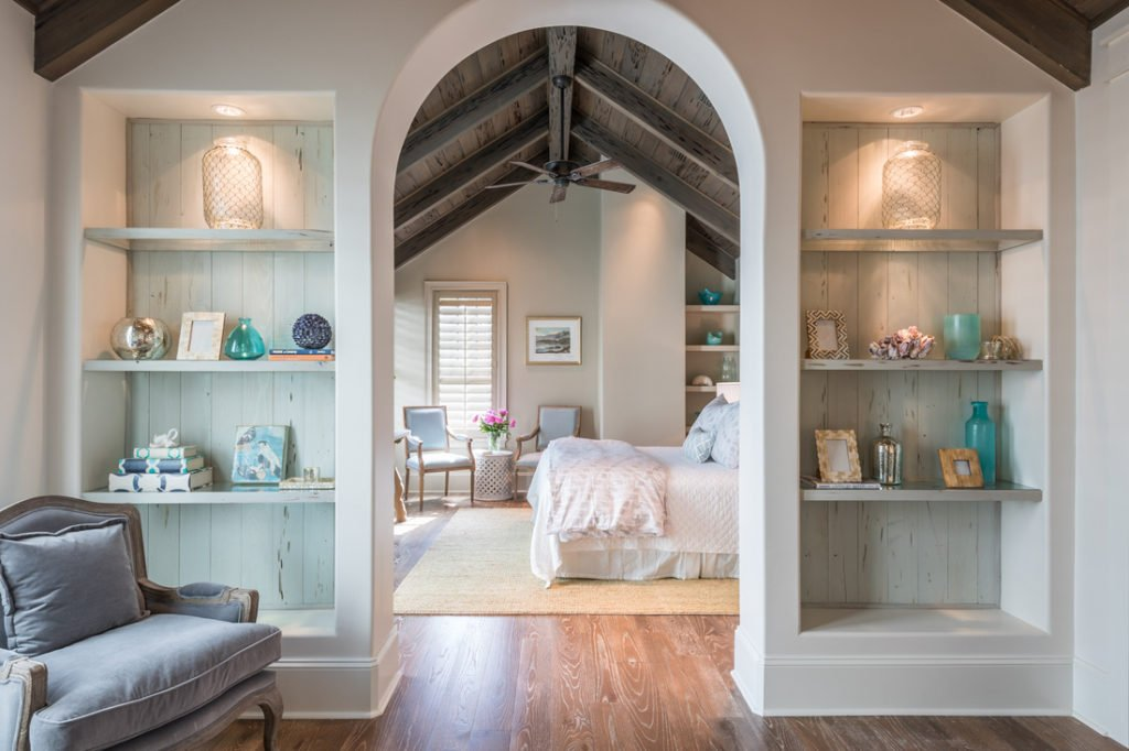 Stunning bedroom from Old Seagrove Homes.