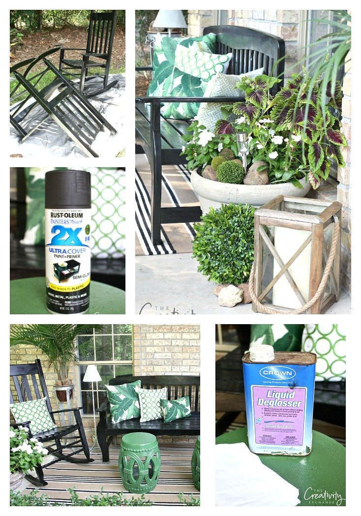 best paints to use for outdoor furniture accessories and pots