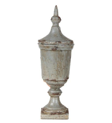 Ceramic Garden Urn. Available on Amazon