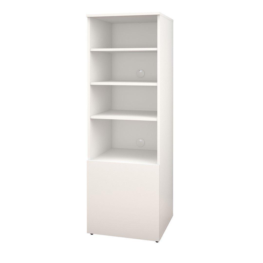 Closet accessory shelving options.