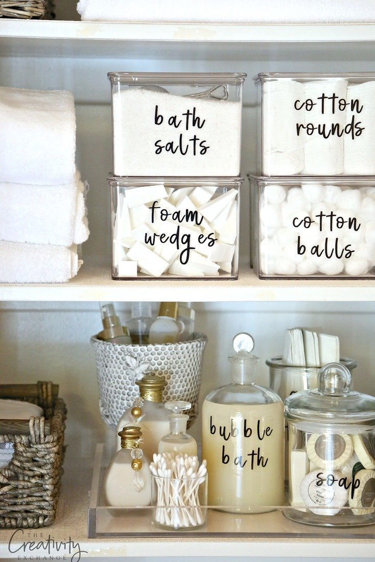 picture about Free Printable Organizing Labels named Cost-free Printable Labels that Your self Can Fashion inside of Phrases and Edit