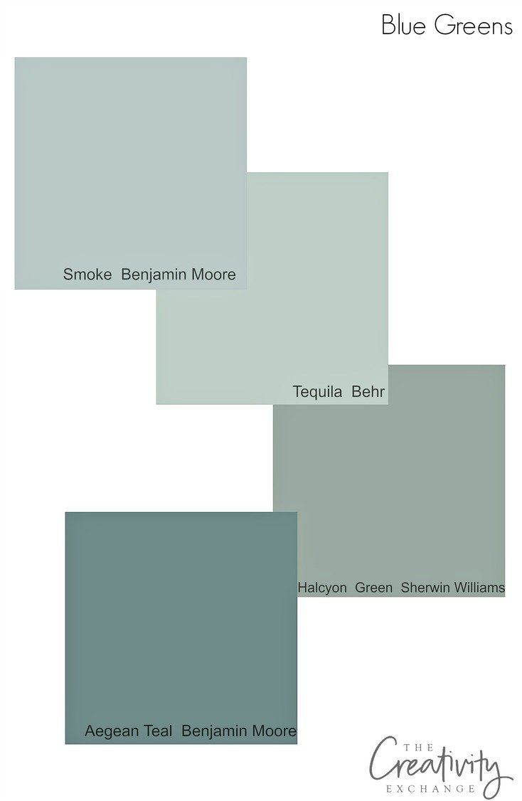 Cabinet paint color trends and how to choose timeless colors Green grey paint benjamin moore