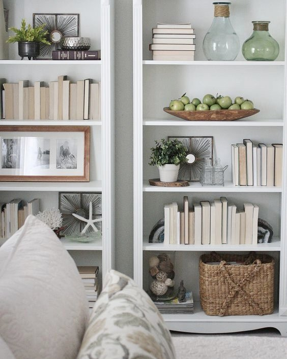 Creative Bookshelf Styling And Layering Tricks