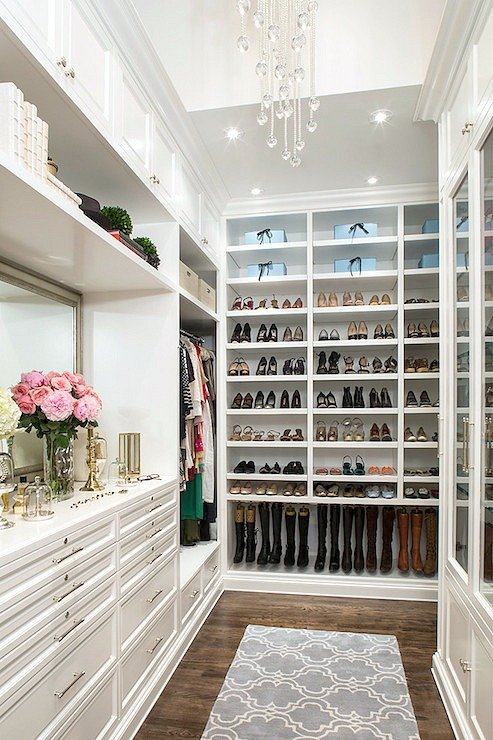 Organizing tips to steal and incorporate from these dream closets.