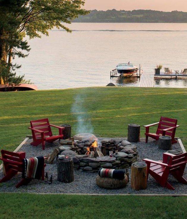 Creative Fire Pit Designs and DIY Options