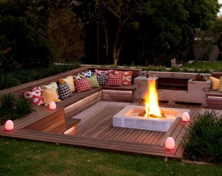 Creative fire pit designs and diy options - Amenager lounge m ...