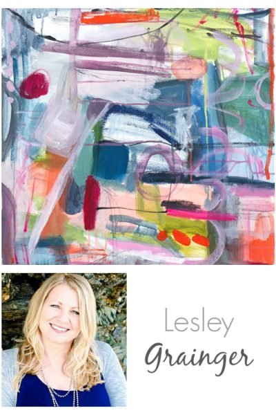 Artist Lesley Grainger. Artist Spotlight