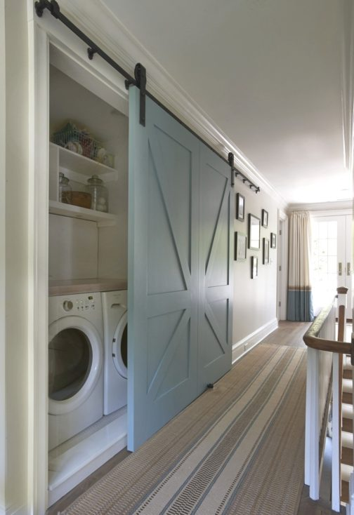 Hall Laundry Barn Door