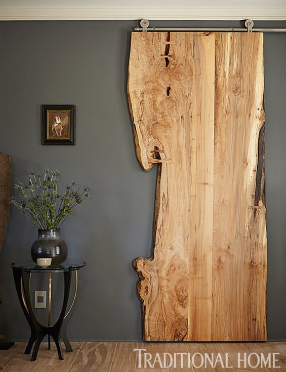 Live Edge Wood Door