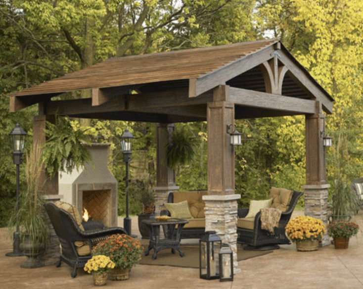 Creative pergola designs and diy options for Outdoor great room ideas
