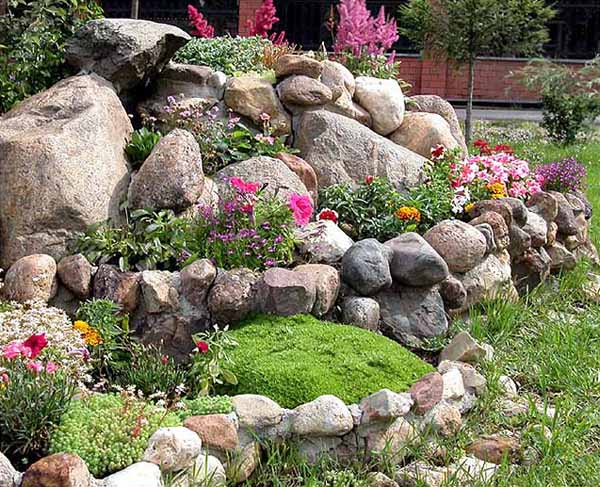 Easy Ideas for Landscaping with Rocks - photo#6