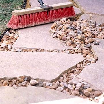 Rock Walkway DIY