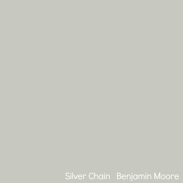 Silver Chain by Benjamin Moore.
