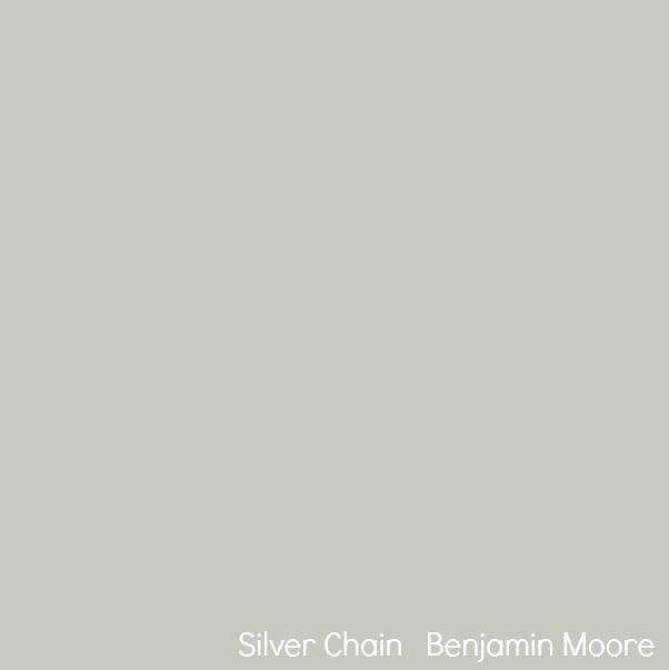 Best selling benjamin moore paint colors - Benjamin moore silver chain exterior ...