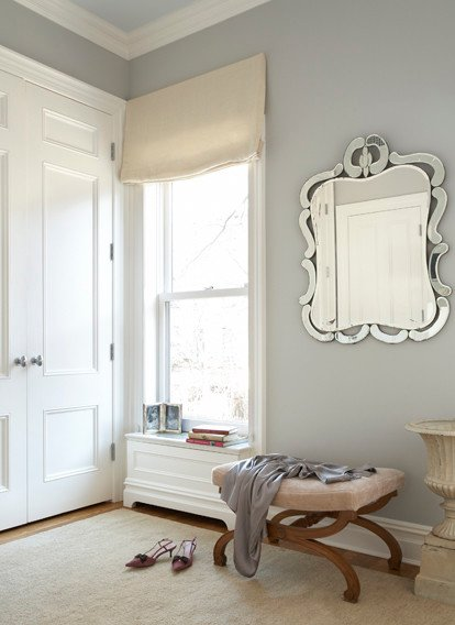 Wall Color Is Stonington Gray