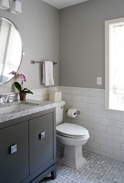 Best selling benjamin moore paint colors What color to paint bathroom with gray tile