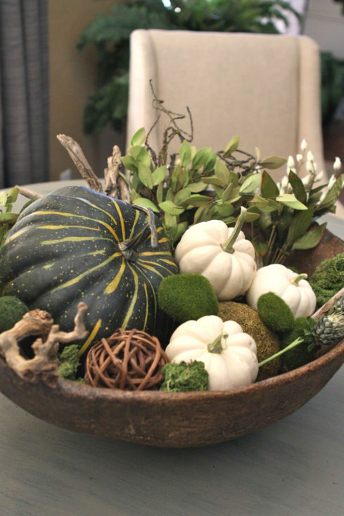 Fall Pumpkin Bowl
