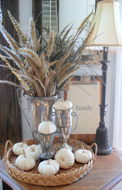 Quick and easy fall decorating ideas Home decorating ideas using junk