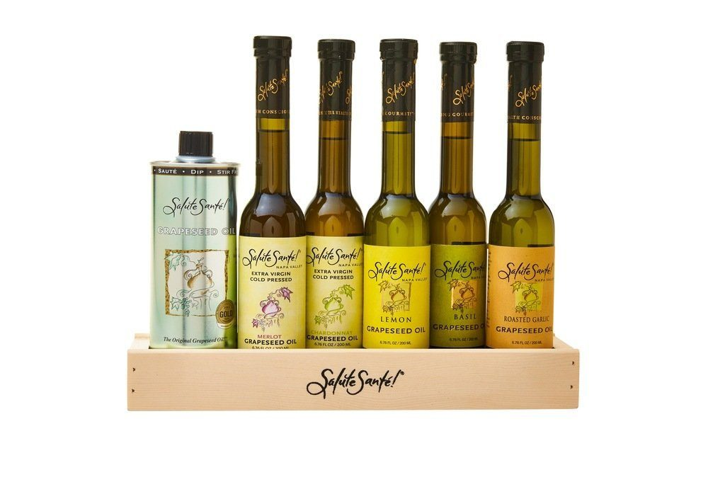 Gift Set of Grapeseed Oil. Oprah's favorite things.