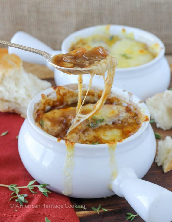 The Best Homemade French Onion Soup