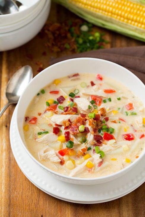Creamy Chicken and Corn Chowder