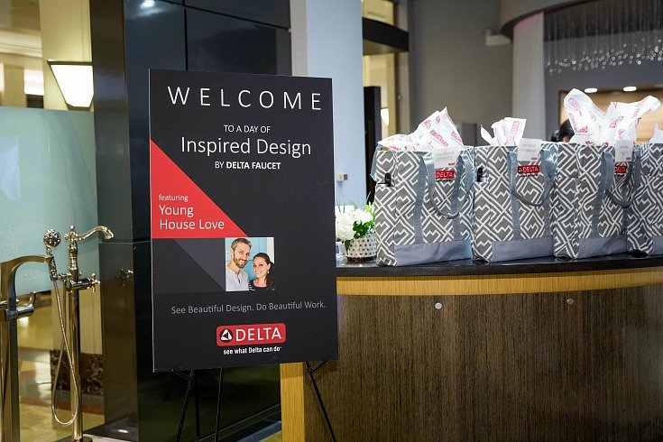Delta Faucet Blogger Event in Chicago.
