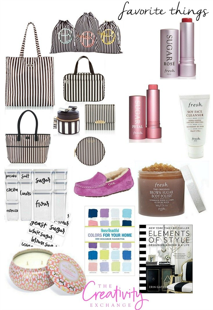 Favorite Things Gift Guide to Treat Yourself