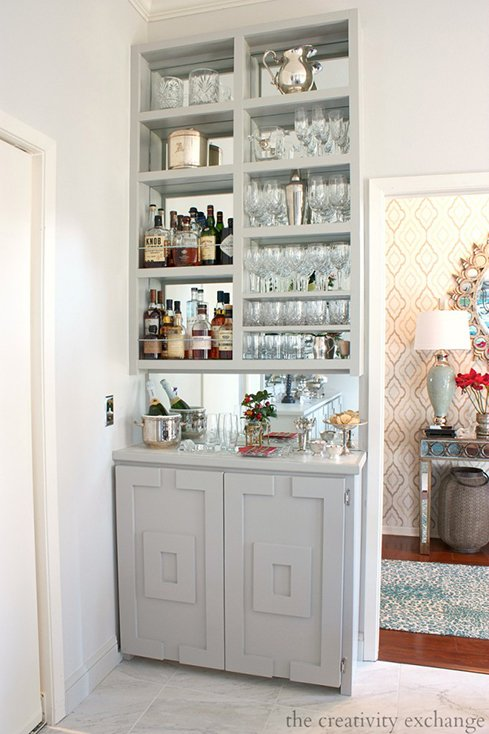 25 Creative Built In Bars And Bar Carts