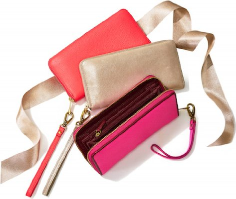 Fossil Wallet and Clutch Designed for cellphones.