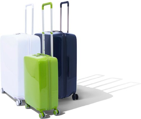 Smart suitcases with built in charging station and scale to prevent being overweight!!