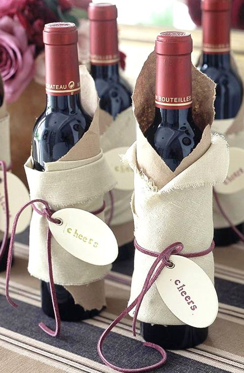 Stamped Wine Wraps