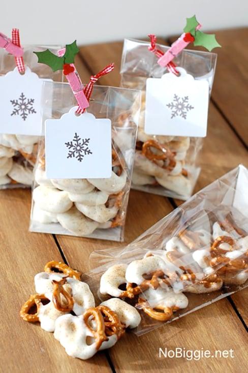 White Chocolate Caramel Pretzels