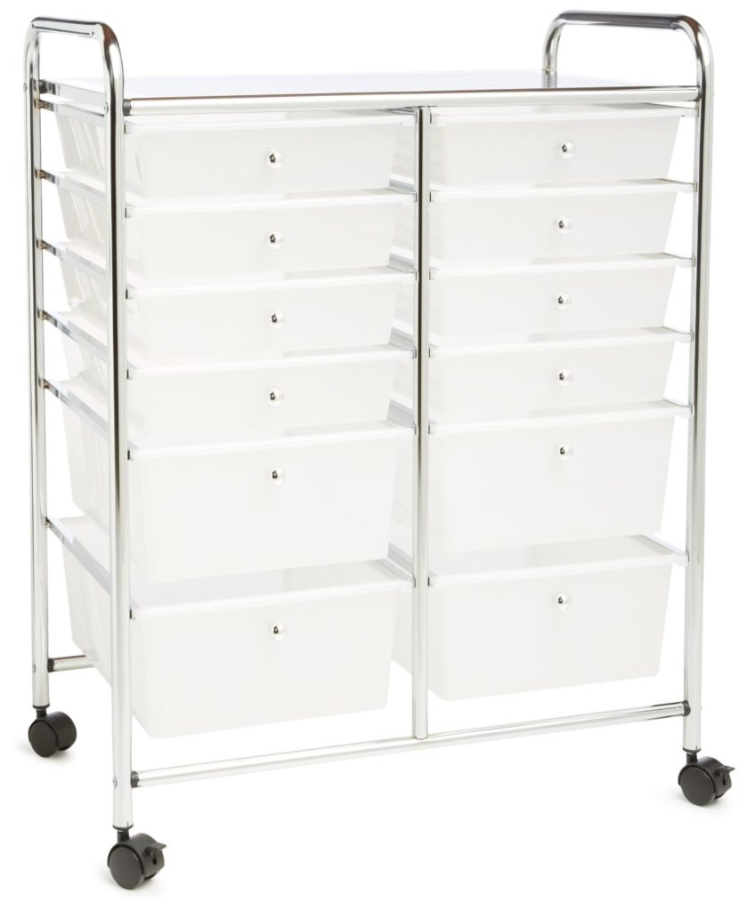 Honey Do 12 Drawer Storage Cart. Only $55.00