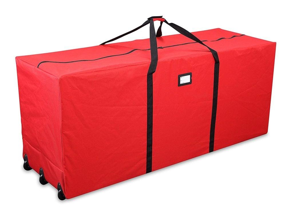 Heavy Duty Christmas Tree Storage Bag with Wheels