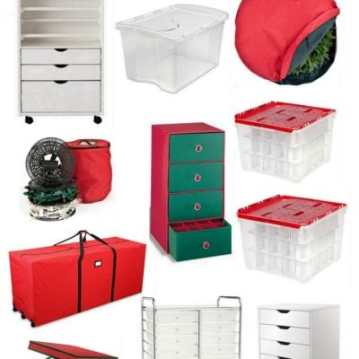Creative Christmas Storage Ideas and Products