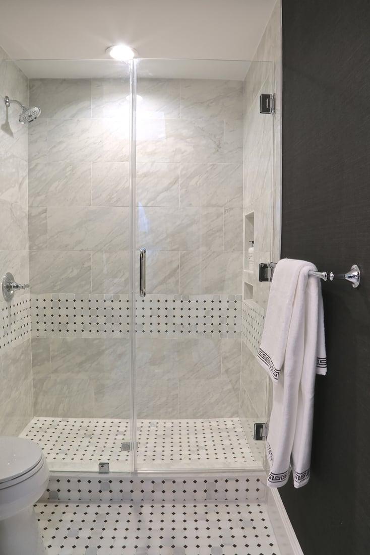 Frameless Glass Walk In Shower