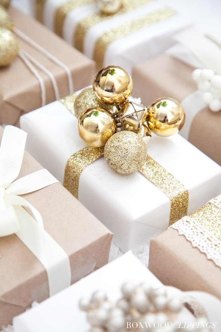 Glam Christmas Wrapping