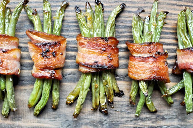 Green Bean Bacon Bundles
