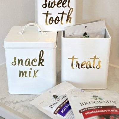 Creative Canister Idea for Giving Sweet Treats