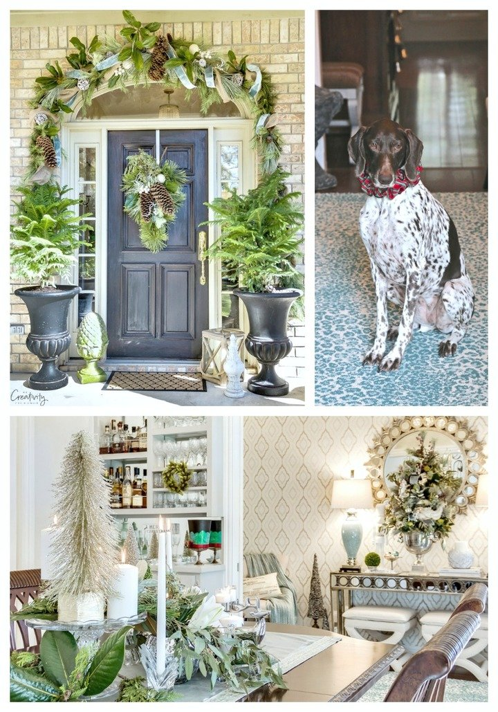 Christmas Home Tour. The Creativity Exchange